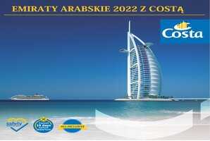 EMIRATY ARABSKIE 2022 costa cruises